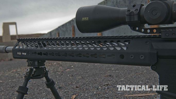 sneak peek Seekins Precision SP10 rifle hand guard