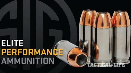 Sig Sauer 10mm Elite Performance Ammunition