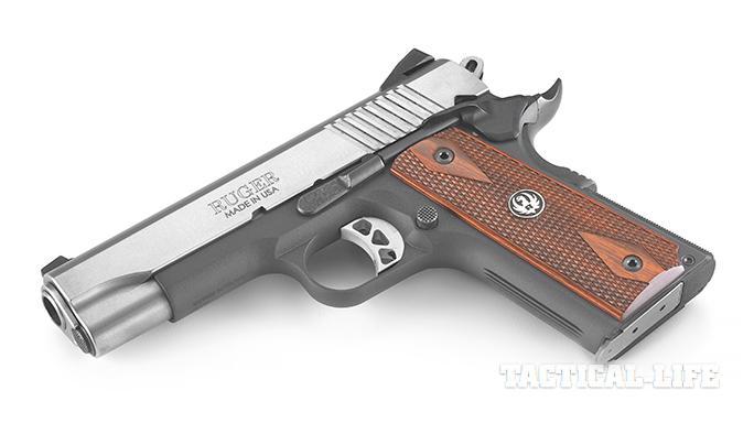 Top 1911 handguns 2015 RUGER SR1911 LIGHTWEIGHT COMMANDER