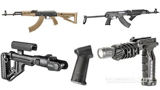 AK Upgrades: Stocks, Grips & Foregrips For 2015