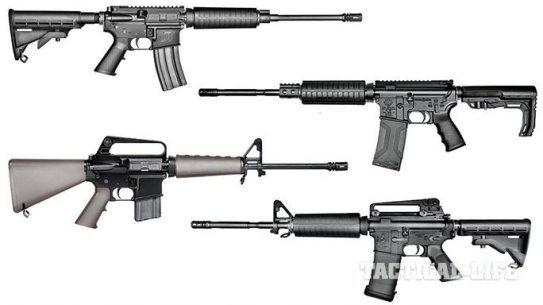 16 AR-15 Rifles For Less Than $1,000