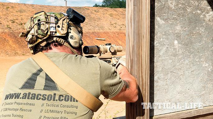 Armageddon Tactical Solution's Elite Sniper Training Course barricade