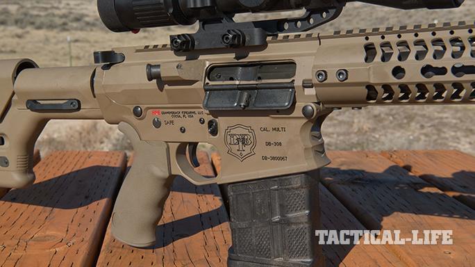 Diamondback Firearms DB10E rifle 7.62 sneak speak receiver