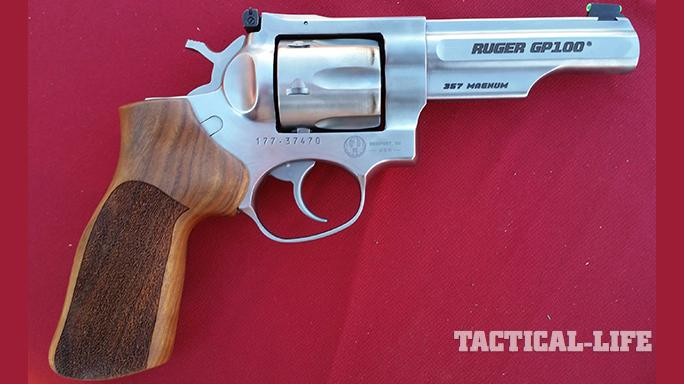 Full size handgun top 2015 Ruger GP100 Match Champion