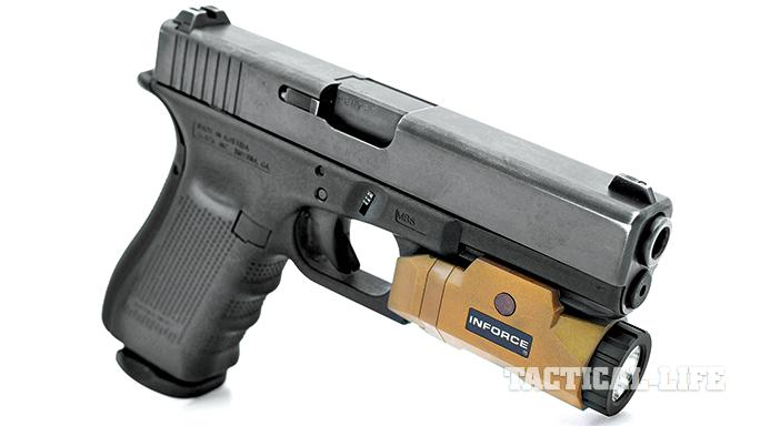 GWLE April 2015 Weapon-mounted lights Inforce APL