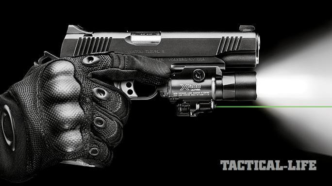 GWLE April 2015 Weapon-mounted lights SureFire X400 Ultra