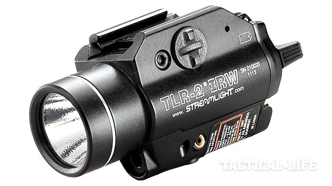 GWLE April 2015 Weapon-mounted lights Streamlight TLR-2 IRW