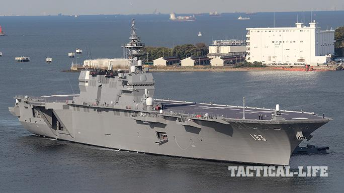 Japan Maritime Self-Defense Force Izumo-Class Helicopter Destroyer
