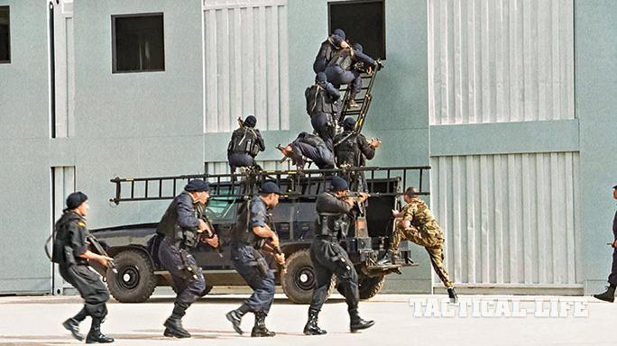 Jordanian Special Forces SWMP April 2015 ladder