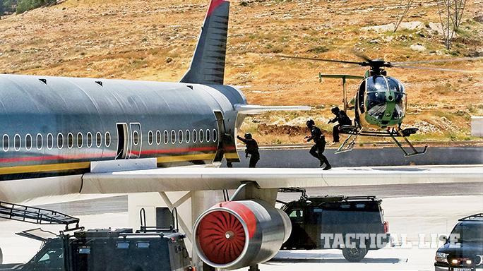 Jordanian Special Forces SWMP April 2015 plane