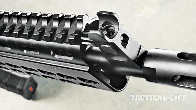 Krebs 7.62 Speedload 2 SL 2 Tactical Rifle front sights