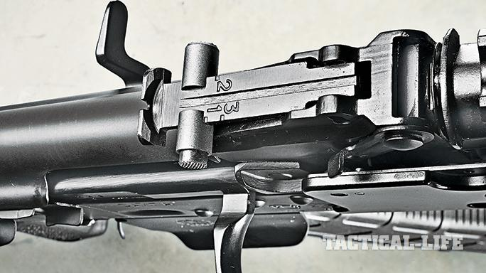 Krebs 7.62 Speedload 2 SL 2 Tactical Rifle iron sights