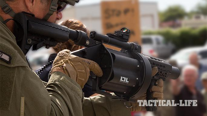 Less Lethal SHOT Show 2015 AAMI Weapons MGL-LTL: