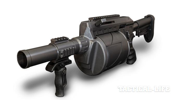 Less Lethal SHOT Show 2015 AMTEC Ripple Effect RLL37/38