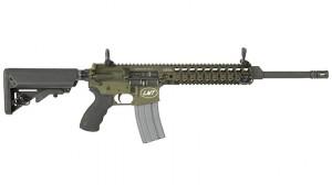 Lewis Machine & Tool CQBODGB AR-Platform Rifle solo