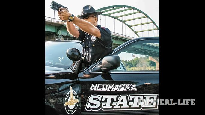 Nebraska Safety Patrol GLOCK 21 SF car