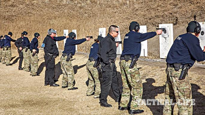 Nebraska Safety Patrol GLOCK 21 SF training