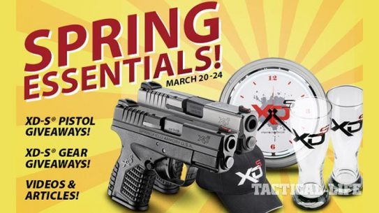 Springfield Armory XD-S Spring Essentials Weekend