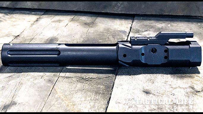 SHOW Show 2015 law enforcement accessories Gem-Tech Suppressed Bolt Carrier