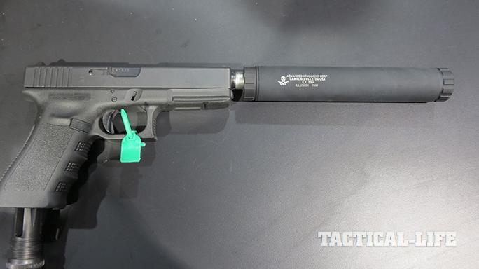 SHOT SHow 2015 suppressors AAC Illusion