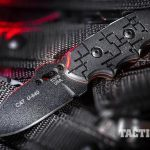 TOPS Knives Cryptic Cyber Scales C.A.T. Series black