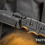 TOPS Knives Cryptic Cyber Scales C.A.T. Series handle
