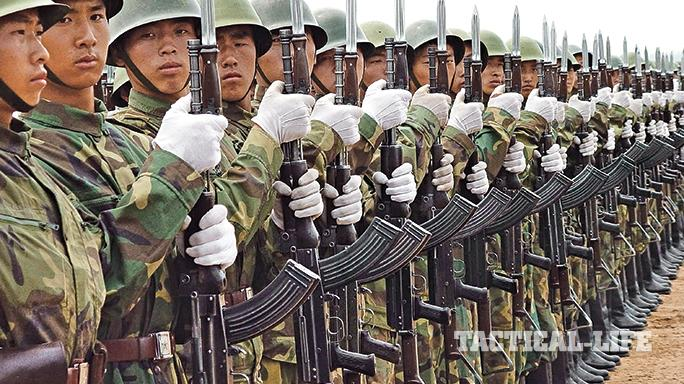 Chinese Type 81 rifle lineup