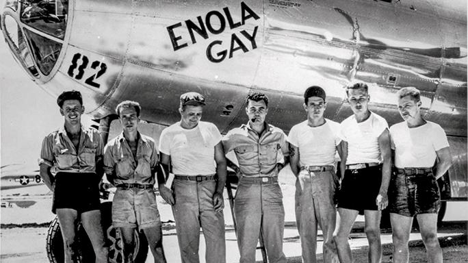 WWII airman SWMP April 2015 Enola Gay
