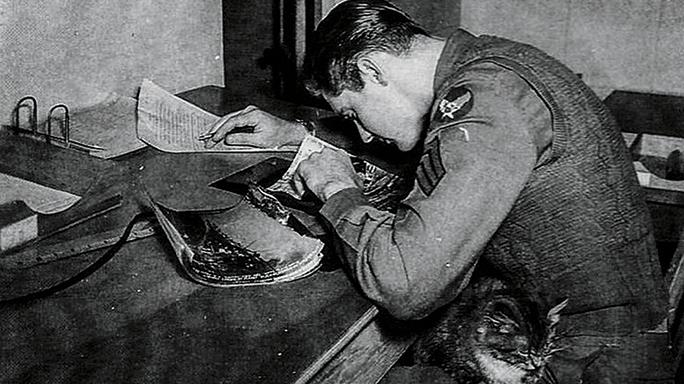 WWII airman SWMP April 2015 photos