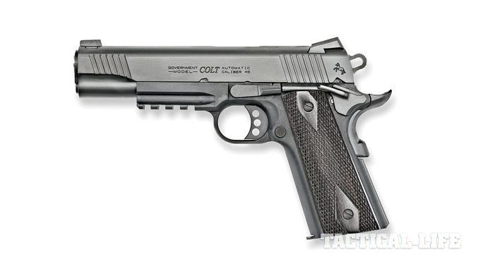 Concealed Carry Pistols 2015 Colt O1880RG Rail Gun