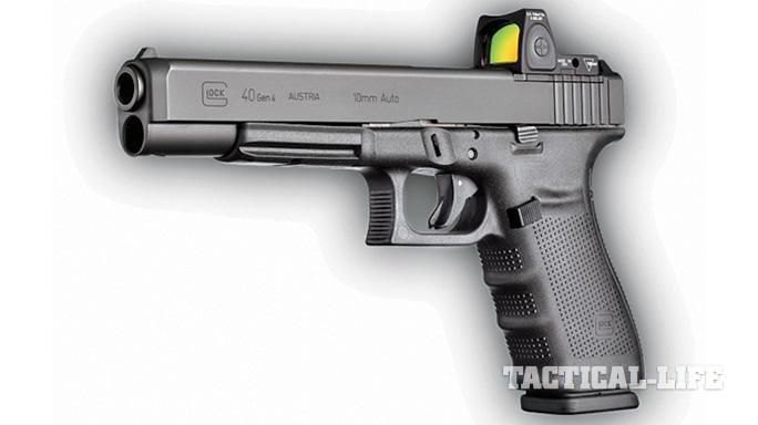 Concealed Carry Pistols 2015 Glock 40 Gen4 MOS