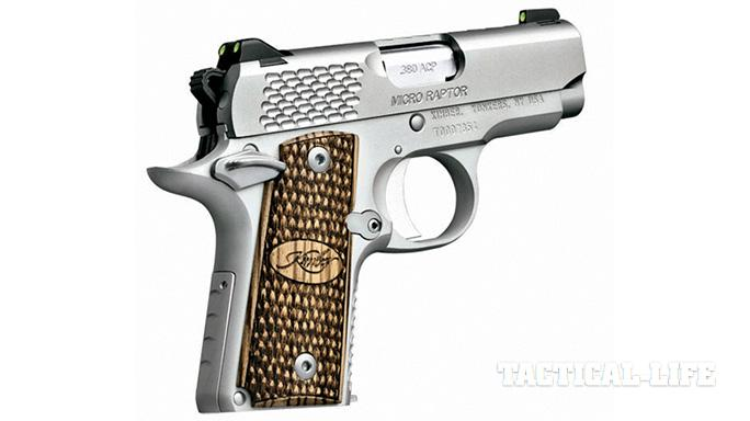 Concealed Carry Pistols 2015 Kimber Micro Raptor .380