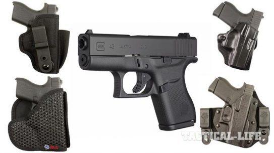 16 Glock 43 Holsters From DeSantis Gunhide