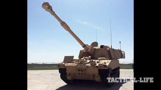 U.S. Army M109A7 Self-Propelled Howitzer first delivery