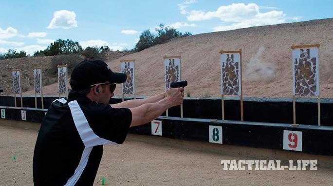 Remington RM380 pistol fire