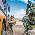 Las Vegas Metropolitan Police Department Zebra Force TW May 2015 bus