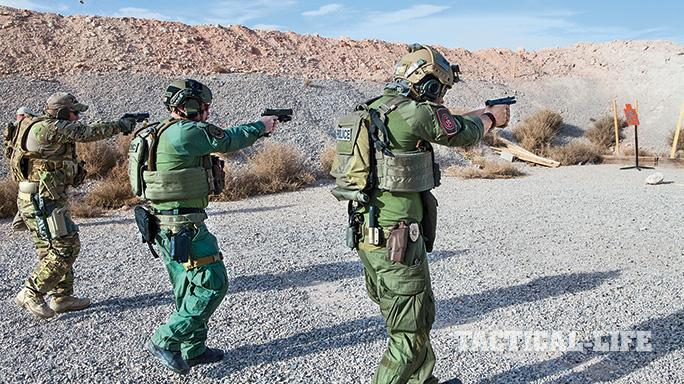 Las Vegas Metropolitan Police Department Zebra Force TW May 2015 live fire