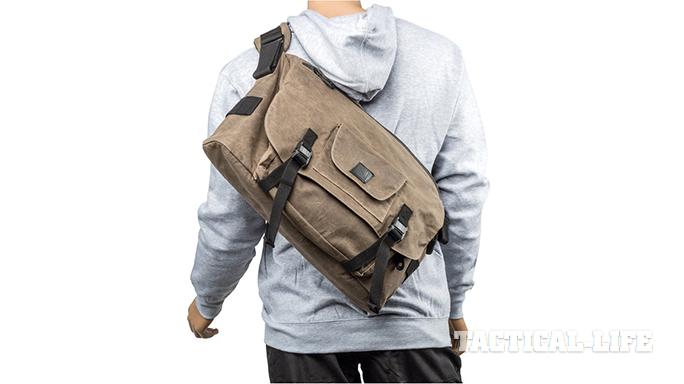 BlackHawk Diversion Wax Canvas Messenger Bag field