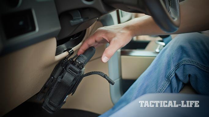 Car Concealed Carry Gun Safes Holster Mounts Vehicle