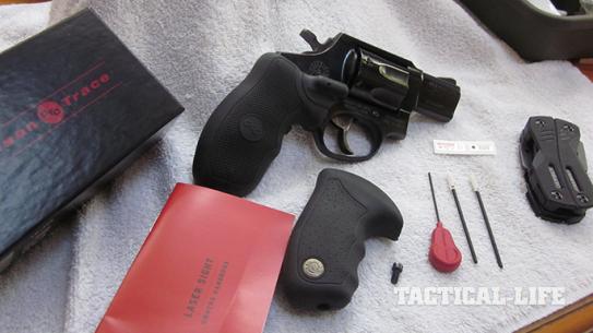 Crimson Trace Lasergrips Gun Buyer's Guide 2015