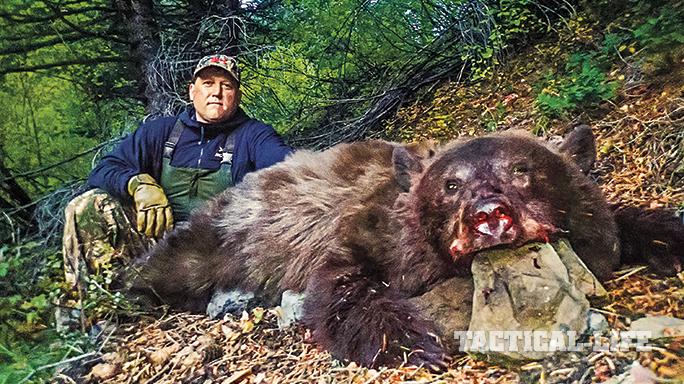 CZ 550 Sonoran Rifle bear