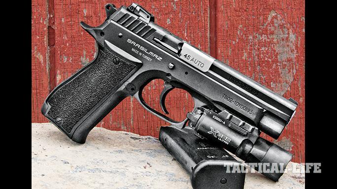 EAA Sarsilmaz K2 .45 ACP Pistol GWLE 2015 right