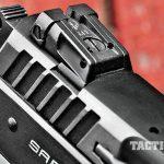 EAA Sarsilmaz K2 .45 ACP Pistol GWLE 2015 rear sight