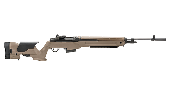 Springfield Armory Loaded M1A Rifle Flat Dark Earth reup right