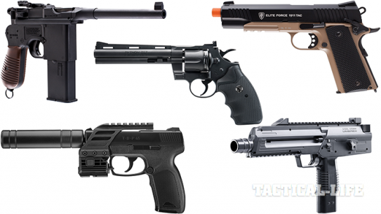 Top 16 Air Pistols From Gun Buyer's Guide 2015