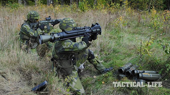 Carl Gustaf M4 Rocket Launcher field