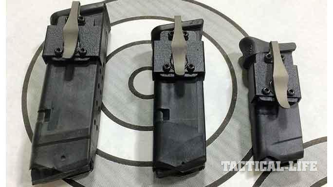 NeoMag Magnetic Pocket Magazine Holder sizes