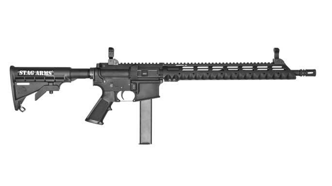 stag arms, stag arms model 9t, model 9t, model 9t 9mm, 9mm model 9t rifle, model 9t rifle, model 9t profile right