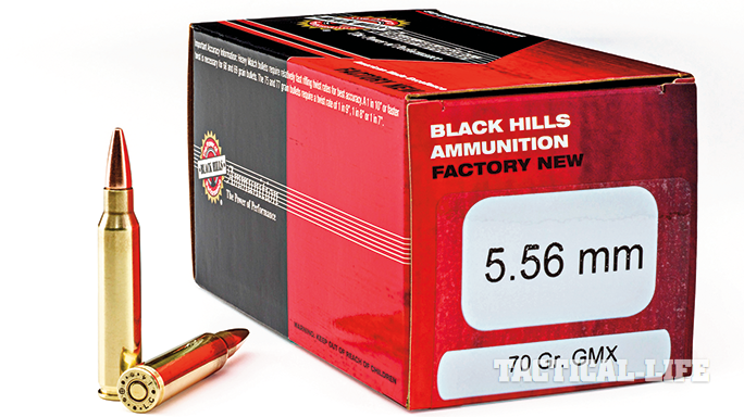 SWJA15 tactical accessories BLACK HILLS 5.56mm HORNADY GMX