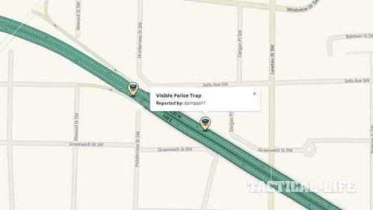 Traffic App Waze Law Enforcement